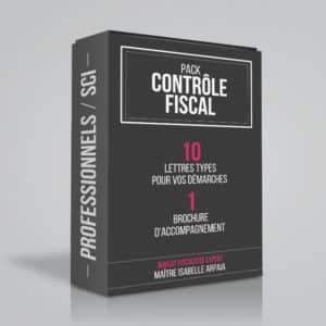 Modèles Lettres Contrôle Fiscal pour Professionnels SCI - Vérification comptabilité, examen sur place - Isabelle Arpaia, ancien Inspecteur des Impôts.