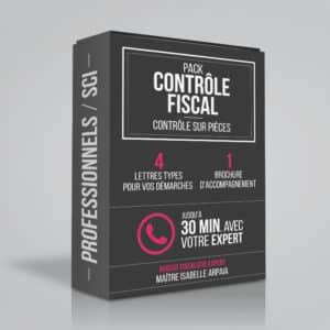 Contrôle Fiscal Modèles Lettres pour Professionnels SCI - Contrôle sur Pièces - Avocat Fiscaliste Isabelle Arpaia, ancien Inspecteur des Impôts - Paris.
